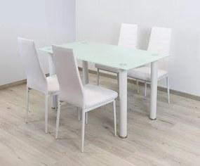 OVN jedálenský stôl ST 10 biely 140x75cm