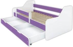 Detská posteľ Dione 160x80 fialová
