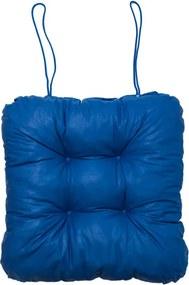 Podložka na stoličku Soft modrá