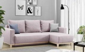 Dizajnová sedačka Elias, ružová