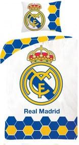 HALANTEX Obliečky Real Madrid Bavlna 140/200, 70/90 cm