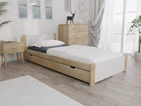 Posteľ IKAROS 90 x 200 cm, borovica Rošt: Bez roštu, Matrac: Bez matrace