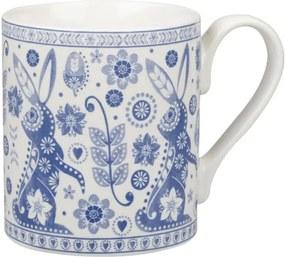 Sada 4 hrnčekov Churchill China Penzance Blue Mug, 250 ml