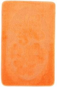 Kúpeľňová predložka 1125 oranžová, Velikosti 50x80cm
