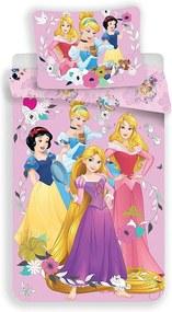 JERRY FABRICS Obliečky Princess pink 2 Bavlna 140/200, 70/90 cm