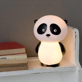 Rex London Nočné LED svetlo do detskej izbičky medvedík panda