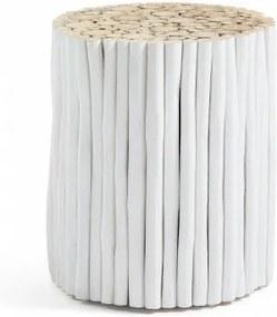 VERSO WHITE stolík