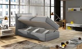 Jednolôžková boxspring posteľ Ester 90x200 cm