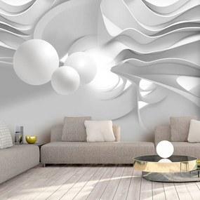 Fototapeta - White Corridors 400x280