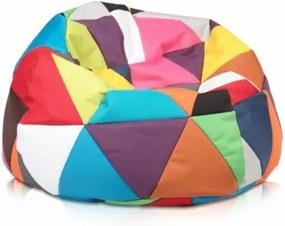 Sedací vak ECOPUF - SAKWA M ekokoža farebný
