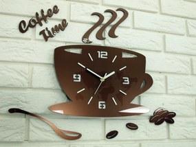 Mazur Nástenné hodiny Coffe medené