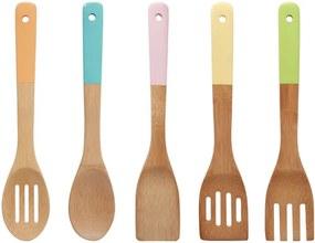 5-dielna sada bambusového kuchynského náradia Premier Housowares Bamboo