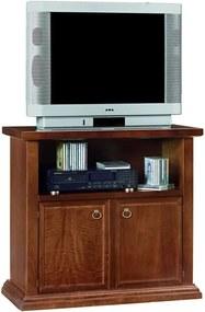 Dvojdverová drevená TV komoda Castagnetti Legno