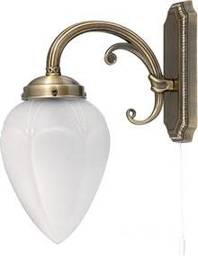 Rábalux Maya 8531 Nástenné Lampy bronz biely E14 1x MAX 40W 110 x 280 mm
