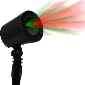 Projektor laserový IMMAX 08431L vonkajšie 2 farby svetla