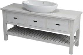 SAPHO BRAND umývadlová skrinka 160x73x50cm , starobiela