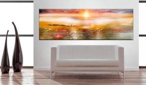Obraz oranžové more- Orange Sea