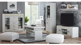 TEMPO KONDELA Infinity obývacia izba jaseň biely