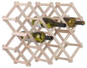 ČistéDrevo Drevený stojan na víno