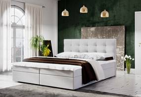 Čalúnená posteľ LAKE 2 + rošt + matrac, 180x200, Cosmic 10