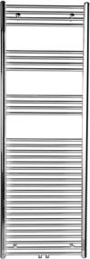 Alya 1145-05 vykurovacie teleso rovné 500x1118 mm, stredové pripojenie, chróm