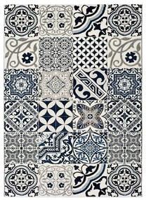 Modrý koberec Universal Indigo Azul Mecho, 60 × 120 cm