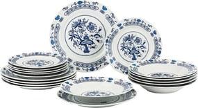 Banquet Onion 18-dielna súprava tanierov