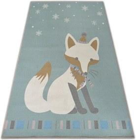 3kraft Kusový koberec LOKO Fox zelený
