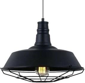 BRG LED stropné svietidlo B7046 E27 - čierne