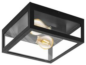 Eglo Eglo 99122 - Kúpeľňové stropné svietidlo AMEZOLA 2xE27/40W/230V EG99122