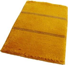 ROUTNER Kúpeľňová predložka IRSINA Žltá 10509 - Žltá / 60 x 100 cm 10509