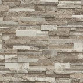 Vliesové tapety na stenu Origin - kameň pieskovec svetlo hnedý
