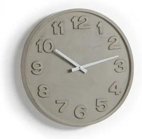 WENIG nástenné hodiny cement