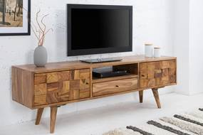 TV stolík Mosaico 140cm sheesham