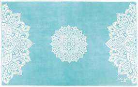 Malý uterák na jogu Yoga Design Lab Mandala Turqouise