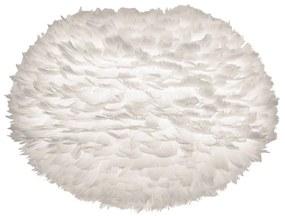 Biele tienidlo z husieho peria VITA Copenhagen EOS, ⌀ 65 cm