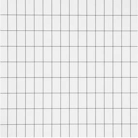 Ferm Living Tapeta Grid, black/white