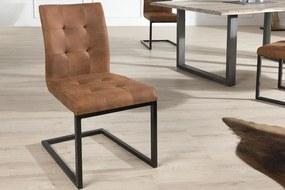 Oxford stolička / hnedá