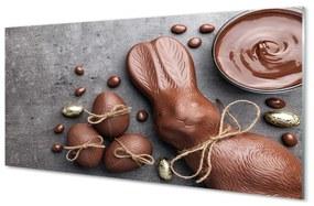 Nástenný panel Čokoládová tyčinka králik 140x70cm