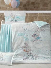 Night In Colours, SR Obliečky do postieľky Rabbit, Rozmer 1x40x60 / 1x100x135 cm