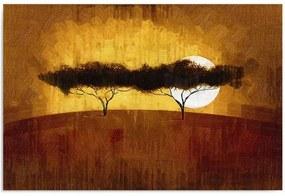 Obraz CARO - Two Trees 40x30 cm
