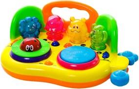 Interaktívna hračka-DJ žltý 11081