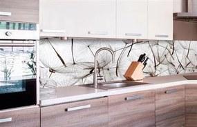 Samolepiace tapety za kuchynskú linku, rozmer 260 cm x 60 cm, lietajúce púpavy, DIMEX KI-260-050