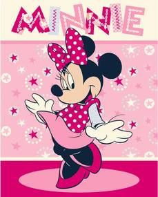 Faro Micropolar fleece deka Minnie 120/150 cm