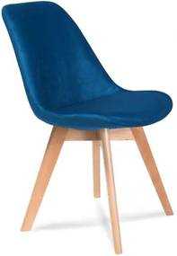 JEREMIE BUK ZAMAT stolička Modrá