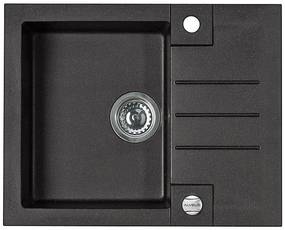 ALVEUS ROCK 30 kuchynský drez granitový 595x475 mm, čierny