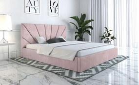 PROXIMA.store - Čalúnená posteľ SLIM III - farba na mieru - 120/140/160/180 Veľkosť postele: Pre matrac 120 x 200 cm