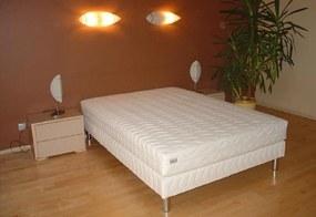 Čalúnená posteľ LUX + matrac BOHEMIA + rošt 120 x 200 cm