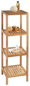 Kúpeľňový regál z orechového dreva s 3 policami Wenko Norway