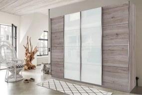 SYDNEY, 4- dverová skriňa 315x225x60 cm Vnútro skrine ako na obrázku